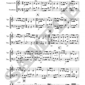Little Suite for Trumpet and Trombone
